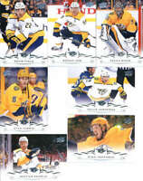 2018-19 Upper Deck Hockey Complete Nashville Predators Team Set of 13 Cards