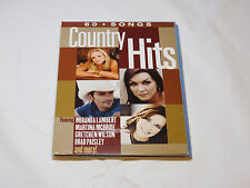 60 Songs Country Hits Sony Music 2010 4 CD set Various Artists Ring Of FIre