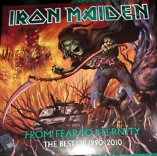 "triple Lp pictures Iron maiden ""from fear to eternity"""