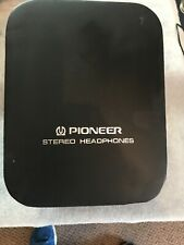 Pioneer Headphones Case Vitage 1960 S