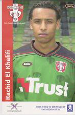 AUTOGRAMMKARTE / AUTOGRAPHCARD Rachid El Khalifi FC Dordrecht 2003/2004