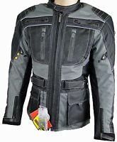 MOTORRADJACKE,CORDURA,JACKE TEXTILJACKE MOTORRADBEKLEIDUNG ATROX NF2203 Gr. M