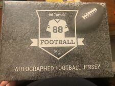 2021 Hit Parade autographed football jersey