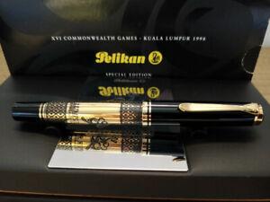 Pelikan M800 Commonwealth Games Kuala Lumpur Fountain Pen with 18K M nib LE