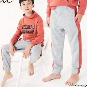 M&S Boys Warm Pyjamas Loungewear Set  6-15 Years Gamer PJs Hoodie Top Joggers