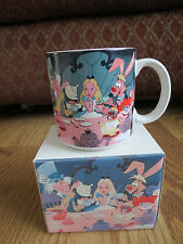 Vntg Walt Disney's Classic ALICE IN WONDERLAND Porcelain Coffee Mug BN IN BOX