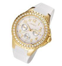 Esprit Damenuhr Benicia Gold/Weiß mit Kristallen (-55% UVP 149,99 ES106622004)