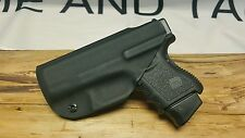 Glock 26/27/33 Kydex IWB Holster ** Ready to Ship**Lifetime Warranty**BLK**