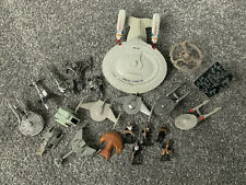 Star Trek Micro Machines Strike Force Enterprise DS9 Runabout model ship figures