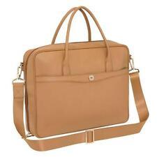 New Oroton Melanie Tan Caramel Leather Womens Briefcase Satchel Handbag Rrp $695