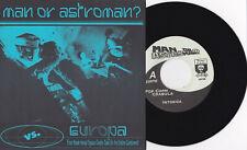 "Man Or Astroman? - Vs. Europa 7"" Servotron Mono Men Mummies Surf Garage Rock"