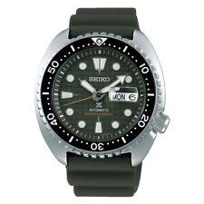 SEIKO SRPE05K1 Men's Prospex King Turtle Diver Automatic Silicone Strap Green