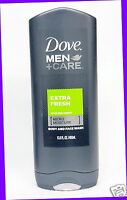 1 Dove Men +Care EXTRA FRESH Cooling Body and Face Wash Shower Gel