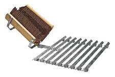 Müba Fußabtritt Fußabtreter verzinkt für Bauwagen Baucontainer