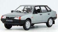 VAZ 21099 Sputnik LADA Samara Gray Russian Sedan 1/43 Scale Diecast Model Car