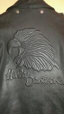 Harley-Davidson men's orginal Sceamin Eagle black leather jacket size large rare