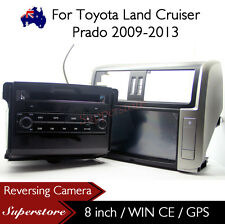 "8"" Car DVD Navigation GPS For Toyota Land Cruiser Prado 2009-2013 150 series"