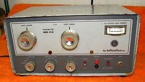 Hallicrafters HT-40 Mark 1 Ham Radio Novice Transmitter