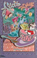 Disney Pin 74517 WDI Alice in Wonderland Fantasyland Poster Tokyo Disneyland *