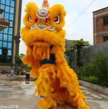 2017Dance mascot Costume wool Southern Lion Chinese Folk art For two adult