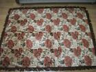 SILK VELVET - SINGLE BED COVER  good condition and solid