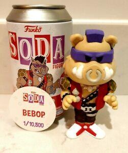 Funko Vinyl Soda Bebop Common 1/10,500 Teenage Mutant Ninja Turtles TMNT Soda