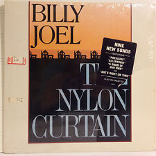 Billy Joel / The Nylon Curtain vinyl Lp open shrink 1982 excellent Rock / Pop