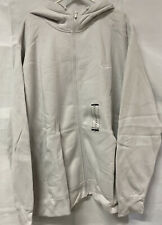 Nike Men's Sportswear Club Fleece Full Zip Hoodie, - gray/white 4XL Free shippin