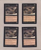 MTG - 4X Crypt Rats X4 - Visions - Common NM/MT Playset