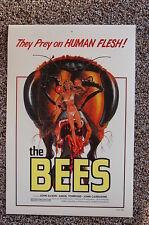 The Bees Lobby Card Movie Poster They Prey on Human Flesh John Saxon