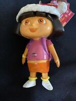 2004 Nick Jr DORA THE EXPLORER Collectible Dispenser Keychain Figure NO CANDY