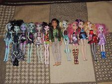 Lot 12 Monster High/Ever After High Dolls