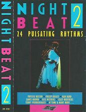 Various Night Beat CASSETTE 2 ONLY ALBUM 12trackStylus Music SMC8501 Disco Funk
