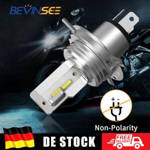 H4 HS1 LED Motorrad Scheinwerfer Birnen Weiß Fern-/ Abblendlicht 6000K 18W 12V