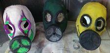 latex gas mask, halloween, cosplay, NOT Slipknot
