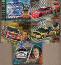 NASCAR UD MIXED 5 CHASE CARD LOT KENSETH #HG3 MARTIN WF2 JARRETT ST6 PETTY TR1 +