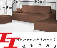 LUXE NEUF 1490€ SALON SOFA d'angle divan canapé L@@K meuble lit de coin design !
