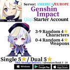 [America/NA/Europe/EU/Asia/AS] Genshin Impact Qiqi Starter Account