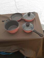 Neoflam col 6PC Cookware Set in ceramica NonStick Pan PENTOLA COPERCHI qualità ~ GUARDA ora