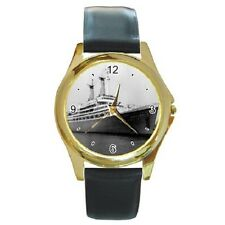 MS ACHILLE LAURO ROTTERDAM LLOYD LINE WRISTWATCH **SUPERB ITEM ***