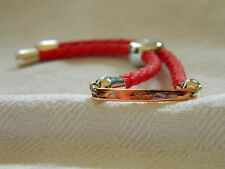 Clogau Silver & Rose Welsh Gold 'Love' Friendship Bracelet RRP £169.00