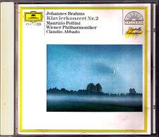 Maurizio POLLINI & ABBADO: BRAHMS Klavierkonzert Nr.2 CD Wiener Philharmoniker