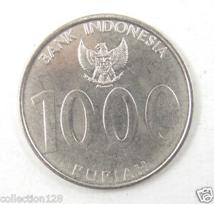 Indonesia 1000 Rupiah Coin Angklung 2010 UNC