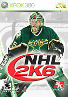 NHL 2K6 (Microsoft Xbox 360, 2006) Disc Only, Tested