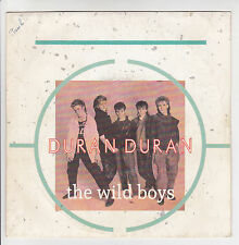 "DURAN DURAN Vinyl 45T 7"" THE WILD BOYS - CRACKS IN THE PAVEMENT -PATHE 2003817"
