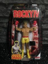 Jakks Pacific Rocky Figure Ivan Drago Extremely Rare Best Of Series Gold New