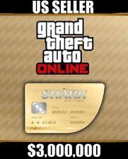 PS4-(GTA V) GRAND THEFT AUTO ONLINE SHARK CASH MEGA SPECIAL $3,000,000