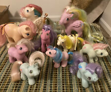 My Little Pony Vintage Lot Of 10-Newborn Twins, BBE Lofty, Brush N. Grow & More