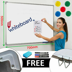 700x500 Magnetic Dry Wipe Whiteboard White Notice Memo Board Home Office School