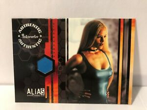 PW1 JENNIFER GARNER SEASON ONE  ALIAS COSTUME WARDROBE CARD INKWORKS